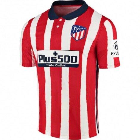 Домашняя детская форма Атлетико Мадрид сезон 2020-2021 (футболка + шорты + гетры)
